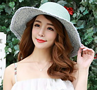 Summer Large Brimmed Sun UV Protection Straw Hat