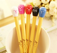 Cute Match Head Style BallPoint Pen (Random Color)