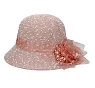 Women Cute/Casual Summer Flower Straw Straw Hat