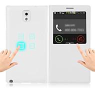 супер умный чехол для Samsung Galaxy Примечание 3 N900 / n9005 случае обновить смарт услуга кнопку автоматического отключения с Filp кожи