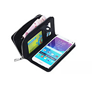 Wallet Premium Wallet Case Cover for Samsung Galaxy Note 4