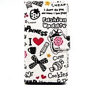 kleine Hexe ii cartoon Luxusbrieftasche Ledertasche für Samsung Galaxy alpha G850 (Farbe sortiert)