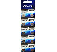 ALKALINE 394 AG9 L936 LR45 High Capacity Button  Batteries (10PCS)