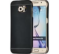 Magie spider®2 in 1 Metall-Design zurück Fall mit Screen Protector für Samsung-Galaxie s6 (verschiedene Farben)