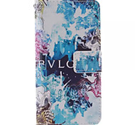 Blue beautiful Pattern PU Leather Full Body Case with Stand for Samsung Galaxy S6