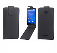 PU Leather Protective Case With Holder Stand for Sony Xperia E4