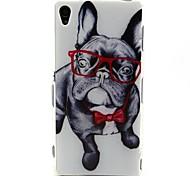coco occhiali fun® cane modello tpu IMD caso della copertura posteriore per Sony Xperia z3