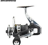 Carrete Spinning / Carrete de la pesca Carretes para pesca spinning 4.7:1 13 Rodamientos de bolas IntercambiablePesca de Mar / Pesca de