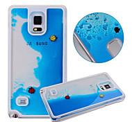 For Samsung Galaxy Case Flowing Liquid Case Back Cover Case Cartoon PC Samsung S5