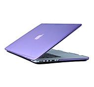 mayor venta delgada de cristal caja transparente dura de cuerpo completo para el macbook pro 13.3 pulgadas (colores surtidos)