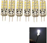 6 stuks YouOKLight G4 2W 24 SMD 3014 150 LM Koel wit Decoratief LED-maïslampen AC 220-240 V