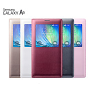 View Window Solid Color Full Body Case for Samsung Galaxy A5 (Assorted Color)