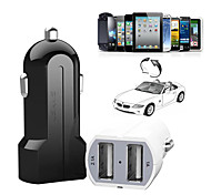 Dual USB Car Charger for iPhone 6/6 Plus iPhone 5/5S/5C iPad and Others(5V/3.1A)