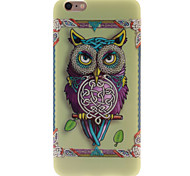 Personality Owls TPU Soft Case for iPhone 6 Plus