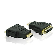 Gold-Plated 1080P HDMI V1.3 Male to DVI-D(24+1) Female Converter Adapter