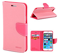 Magic Spider®Pink Open PU Leather Wallet Case Cover Stand with Screen Protector for iPhone 6