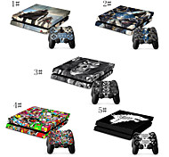 The Last of US/Call of Duty Skin Decal Stickers for PS4 Playstation 4 Console & Two Controllers Skins