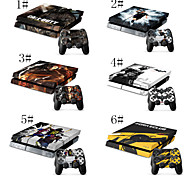 Full Body Decal Skin Sticker For Playstation 4 PS4 Console+ 2 Controllers Vinyl Decal Skins