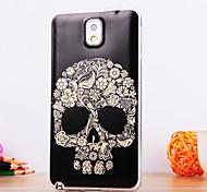 le motif squelette TPU étui souple pour Samsung Galaxy Note 3