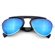 Gafas de Sol hombres / mujeres / Unisex's Modern Aviador Amarillo / Rojo / Azul Claro / Azul Gafas de Sol Media Montura