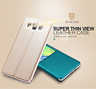 KALAIDENG Sun Series Super Thin View Leather Case for Galaxy A7