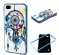 2-in-1 Dreambell Dreamcatcher Pattern TPU Back Cover with PC Bumper Shockproof Soft Case for Huawei Honor 6