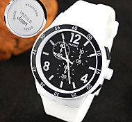 Personalized Gift Men's Sport Watch Steel Strap Engraved Watch