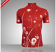 GETMOVING® Summer Women's 100% Polyester Short Sleeves Cycling Jersey