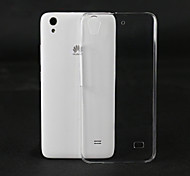Transparent PC Back Cover Case for Huawei Ascend G620s