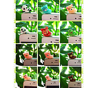 Special Design Animal Anti-dust Earphone Jack for iPhone/iPad and Others(Random Color)
