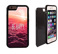 Be Happy Design 2 in 1 Hybrid Armor Full-Body Dual Layer Shock-Protector Slim Case for iPhone 6