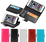 iPhone 6 Case Multifunction Leather Wallet Full Body Cases with Kickstand and Card Slot for iPhone 6(Assorted Colors)