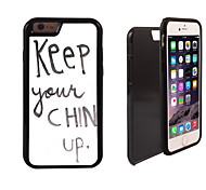 Chin Up Design 2 in 1 Hybrid Armor Full-Body Dual Layer Shock-Protector Slim Case for iPhone 6 Plus