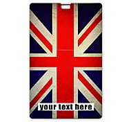 Personalized USB Flash Drive The Union Jack Design 8GB Card USB Flash Drive