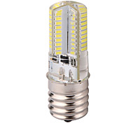 Dimmable E17 6W 80x3014SMD 600LM 2800-3200K/6000-6500K Warm White/Cool White Light LED Corn Bulb (AC 110-130V)