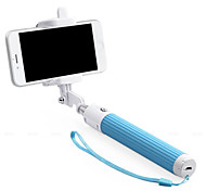 Extendable Camera Handheld Monopod with Mobile Phone Holder and Bluetooth for All Cellphone