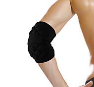 Ollas S/M/L Irregular Face Design Black SBR Nylon Breathable Elbow Protective Gear of Goalkeeper for Ball Games S9104