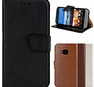 BIG D Genuine Leather Full Body Case for HTC One M9 (Assorted Color)