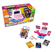 Plastic Mini Cash Register With Sounds Toy For Kids