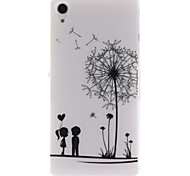 Dandelion and the Design of Lovers TPU IMD Soft Cover for Sony Xperia Z2