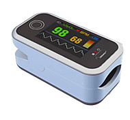 OLED Pulse Oximeter with Color Display Alarm Rechargeable USB Line Free Software Data Starage