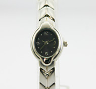 Women's Analog Alloy Case Round Dial Alloy Band Chinese Quartz Watch Women Business Watch Gift Watch(Assorted Colors)