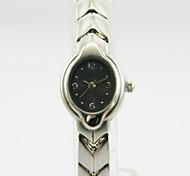 orologio case in lega analogico quadrante rotondo fascia della lega cinese donne orologio al quarzo del regalo della vigilanza affari