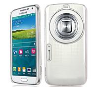 transparente pc de volta caso capa para Samsung Galaxy k c1158 zoom c1116