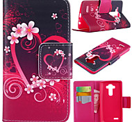 LG G4 Textile / PU Leather / Silicone Full Body Cases / Cases with Stand Special Design case cover