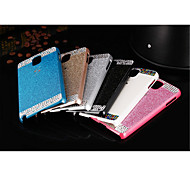 Fashion Bling crystal rhinestone Plastic Bumper Frame Case Back Cover For Samsung Galaxy note4 (Assorted Color)