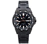 Brand Men's Watches Japan Movement Quartz Watch Stainless Steel Bracelet Men's Fashion Watches -LX002