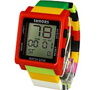 Unisex Rainbow  Calendar Chronograph Feature Sport Watch