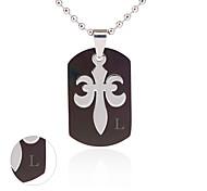 personalisierten Schmuck Edelstahl Silberkette