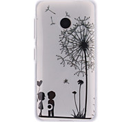 Dandelion and the Design of Lovers TPU IMD Soft Cover for Nokia Lumia N530
